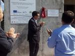 Inauguration of the composting plant in Pallars Sobirà, Catalonia, Spain