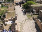 Visiting the Al Bass archeological site of Tyre, Lebanon