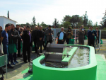 Visits of ponds for the cultivation of micro-algae at the Agricultural Research Institute of Cyprus
