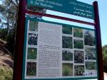 Information panel at Jbel Boukornine National Park